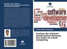 Couverture de Analyse der sicheren gemeinsamen Nutzung von Daten im Cloud-Computing