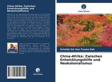 Bookcover of China-Afrika: Zwischen Entwicklungshilfe und Neokolonialismus