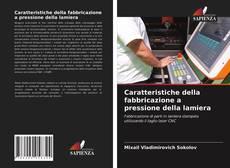 Обложка Caratteristiche della fabbricazione a pressione della lamiera