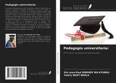 Обложка Pedagogía universitaria: