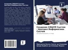 Создание СИЦСМ Сыстем - Цонтрол Информатион Сыстем kitap kapağı