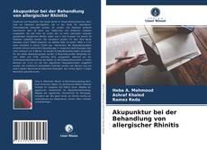 Обложка Akupunktur bei der Behandlung von allergischer Rhinitis