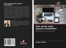 Bookcover of Reti sociali nelle agenzie immobiliari