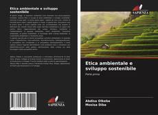 Capa do livro de Etica ambientale e sviluppo sostenibile