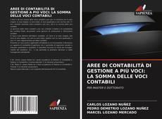 Couverture de AREE DI CONTABILITÀ DI GESTIONE A PIÙ VOCI: LA SOMMA DELLE VOCI CONTABILI