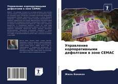 Обложка Управление корпоративными дефолтами в зоне CEMAC
