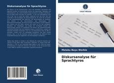 Diskursanalyse für Sprachtyros kitap kapağı