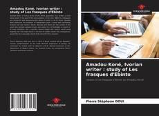 Amadou Koné, Ivorian writer : study of Les frasques d'Ebinto的封面