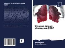 Buchcover von Лечение острых обострений ХОБЛ
