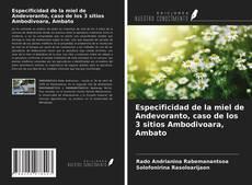 Portada del libro de Especificidad de la miel de Andevoranto, caso de los 3 sitios Ambodivoara, Ambato