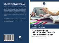 Portada del libro de MATHEMATISCHE STATISTIK VON UND FÜR LEHRPLANSTRATEGIEN