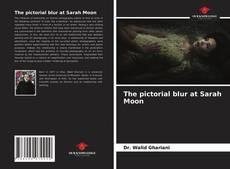 Copertina di The pictorial blur at Sarah Moon