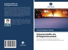 Buchcover von Schmierstoffe als Erfolgsinstrument