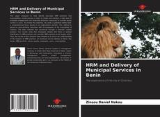 Copertina di HRM and Delivery of Municipal Services in Benin