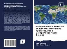 Bookcover of Изменчивость климата и сельскохозяйственное производство в центральной части Бенина