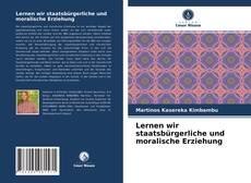Buchcover von Lernen wir staatsbürgerliche und moralische Erziehung