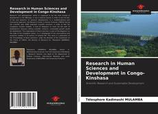 Bookcover of Research in Human Sciences and Development in Congo-Kinshasa