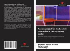 Bookcover of Ranking model for the Spanish companies in the secondary sector