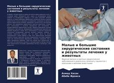 Copertina di Малые и большие хирургические состояния и результаты лечения у животных
