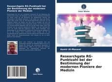 Capa do livro de Researchgate RG-Punktzahl bei der Bestimmung der modernen Pioniere der Medizin