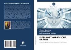 Portada del libro de KIEFERORTHOPÄDISCHE DRÄHTE