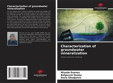 Bookcover of Characterization of groundwater mineralization