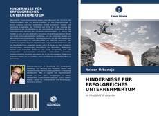 Copertina di HINDERNISSE FÜR ERFOLGREICHES UNTERNEHMERTUM