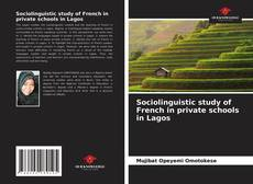 Sociolinguistic study of French in private schools in Lagos的封面