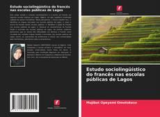 Capa do livro de Estudo sociolingüístico do francês nas escolas públicas de Lagos