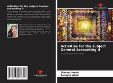 Bookcover of Activities for the subject General Accounting II