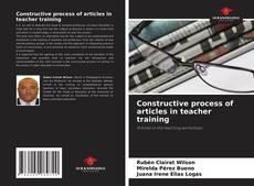 Constructive process of articles in teacher training的封面