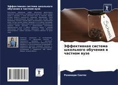 Bookcover of Эффективная система школьного обучения в частном вузе