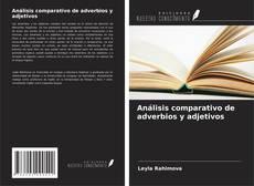 Portada del libro de Análisis comparativo de adverbios y adjetivos