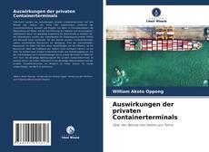 Copertina di Auswirkungen der privaten Containerterminals