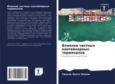 Buchcover von Влияние частных контейнерных терминалов