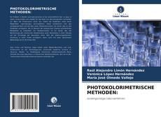 Bookcover of PHOTOKOLORIMETRISCHE METHODEN: