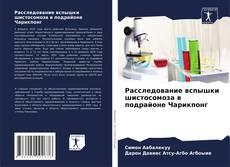 Capa do livro de Расследование вспышки шистосомоза в подрайоне Чарикпонг