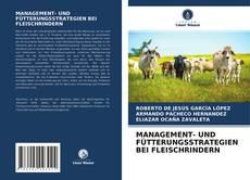Bookcover of MANAGEMENT- UND FÜTTERUNGSSTRATEGIEN BEI FLEISCHRINDERN