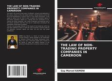 Bookcover of THE LAW OF NON-TRADING PROPERTY COMPANIES IN CAMEROON