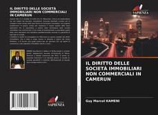 Bookcover of IL DIRITTO DELLE SOCIETÀ IMMOBILIARI NON COMMERCIALI IN CAMERUN