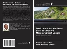 Bookcover of Deslizamientos de tierra en el escarpe de Marakwet East Lagam