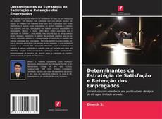 Capa do livro de Determinantes da Estratégia de Satisfação e Retenção dos Empregados