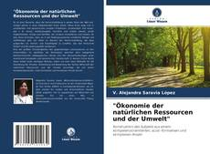 """""""Ökonomie der natürlichen Ressourcen und der Umwelt""""的封面"""