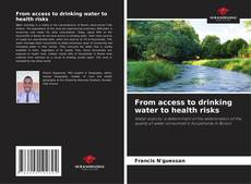 Bookcover of From access to drinking water to health risks