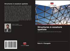 Обложка Structures à ossature spatiale