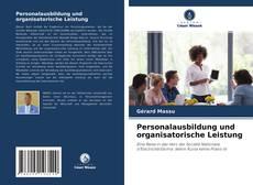 Personalausbildung und organisatorische Leistung kitap kapağı