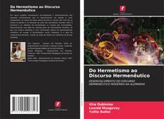 Bookcover of Do Hermetismo ao Discurso Hermenêutico