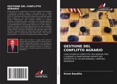Borítókép a  GESTIONE DEL CONFLITTO AGRARIO - hoz