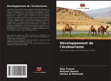 Bookcover of Développement de l'écotourisme