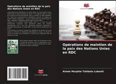Couverture de Opérations de maintien de la paix des Nations Unies en RDC